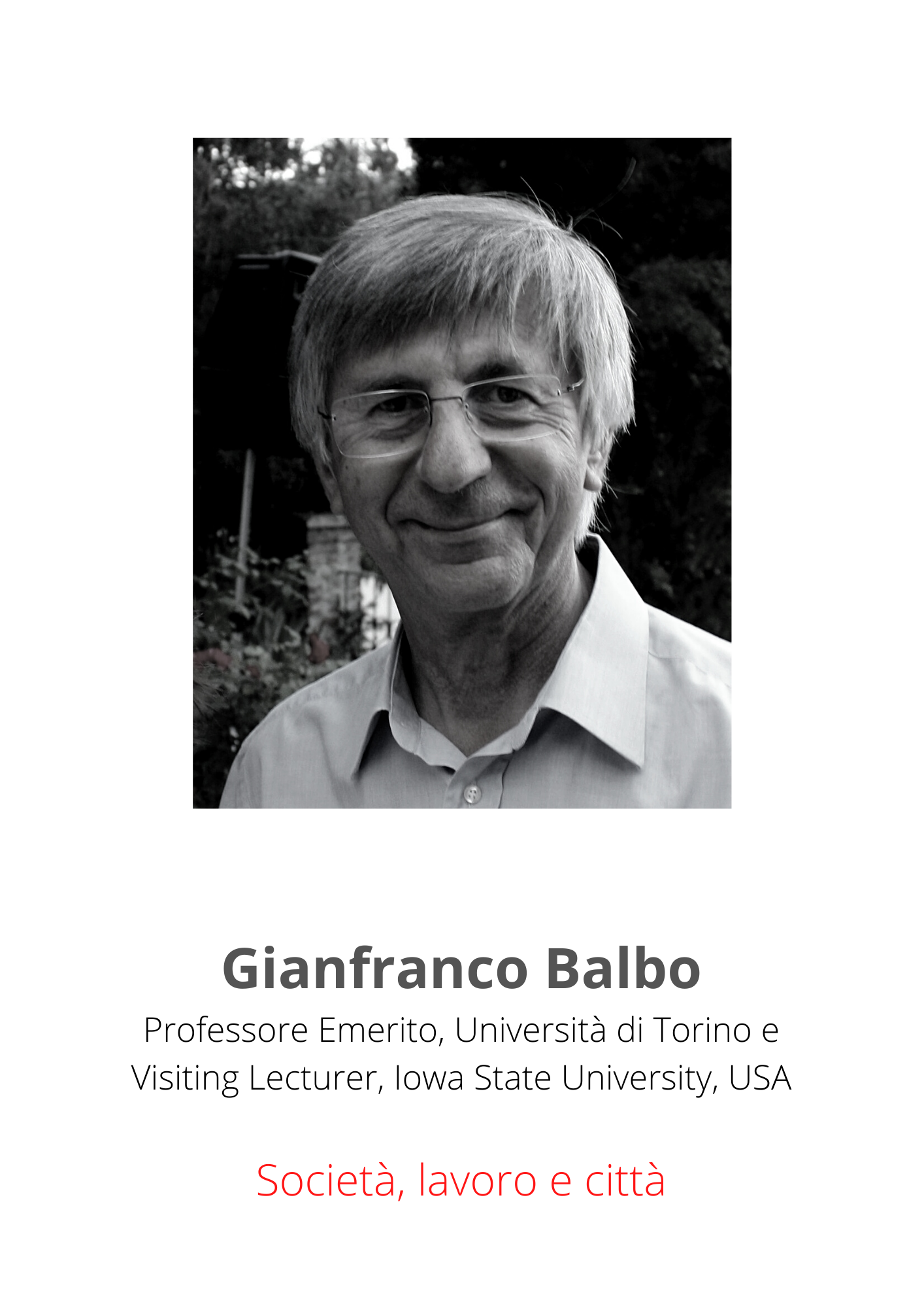 Gianfranco Balbo