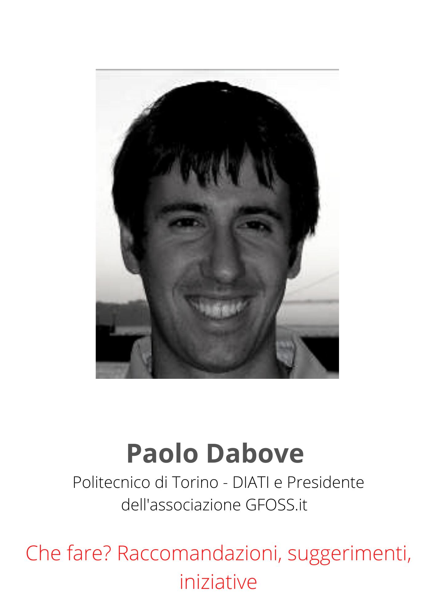 Paolo Dabove